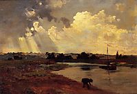 The Banks of the River, daubigny