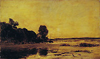 By the sea, daubigny