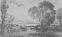 The clump of alders, daubigny