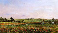 Fields in the Month of June, daubigny