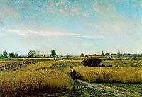 The Harvest, 1851, daubigny