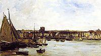 The Port of Dieppe, c.1877, daubigny