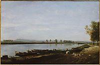 The Seine in Bezons, Val d-Oise, 1851, daubigny