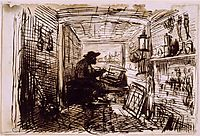 The Studio on the Boat, 1861, daubigny