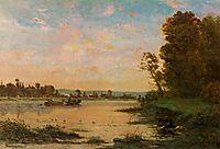 Summer Morning on the Oise, 1869, daubigny