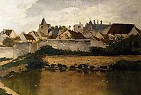 The Village, Auvers sur Oise, daubigny