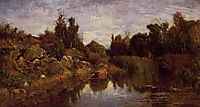 The Water-s Edge, c.1856, daubigny