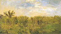 Young corn, daubigny
