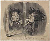 Adolphe Cremieux (Mr Cremieux seeking an apartment), 1848, daumier