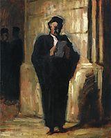 Attorney Reading, daumier