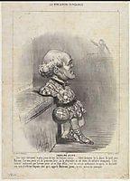 B. Sarrans Young, 1848, daumier