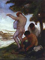 Bathers, c.1853, daumier