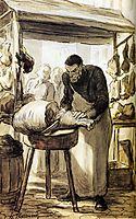The Butcher, daumier