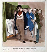 The clinic of Doctor Macaire, daumier