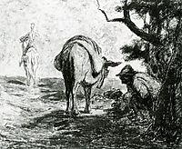 Don Quixote and Sancho Pansa, daumier