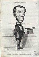 Drouin de l-Huys, 1849, daumier