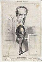 Duvergier de Hauranne, 1849, daumier