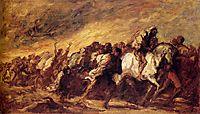 Emigrants or Fugitives, daumier
