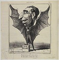 Emile Ollivier, 1869, daumier