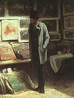 The Etching Amateur, c.1865, daumier