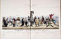 Father Saw, 1832, daumier