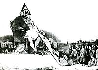 Gargantua, 1831, daumier