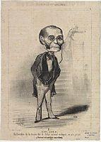 Glais Bizoin, 1849, daumier