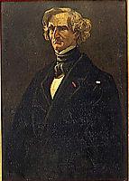Hector Berlioz, 1860, daumier
