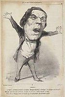 J.F.P. Denjoy, 1849, daumier