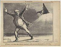 Jacques Babinet, c.1858, daumier