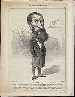 Jean-Louis Greppo, 1849, daumier