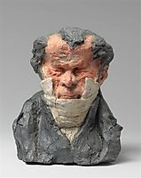 Jean-Ponce-Guillaume Viennet (1777-1868), Deputy, Peer of France and Academician, 1833, daumier