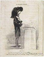 Jules Favre, 1849, daumier