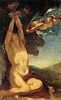 Martyrdom of St. Sebastian, 1850, daumier