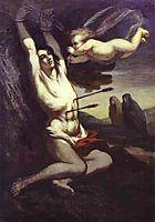 Martyrdom of St. Sebastian, c.1852, daumier