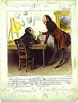 Mr. Daumier, Your Series... Is... Charming…, 1838, daumier
