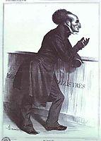 Mr. Joliv (Adolphe Joliv), 1833, daumier