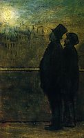 The Nocturnal Travellers, c.1847, daumier