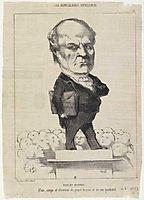 Odilon Barrot, 1849, daumier