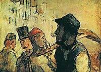 Ouvirers, daumier