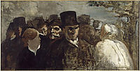 Passers By, c.1860, daumier