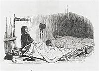 Paul de Kock. The Big City, 1842, daumier