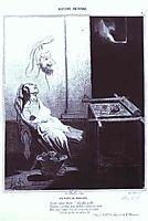 Penelopa-s Dream, 1842, daumier