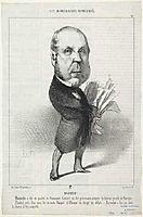 Pierre-Jules Baroche, daumier
