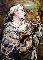 Pierrot with Guitar, 1869, daumier