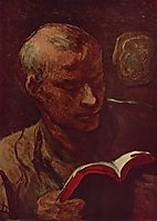 The Reader, daumier