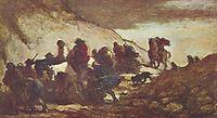 The Refugees, daumier