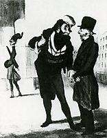 Robert Macaire Business Men, 1836, daumier