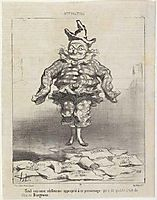 Thiers, 1850, daumier
