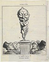 Thiers, 1870, daumier
